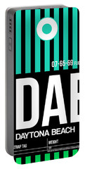 Dab Daytona Beach Luggage Tag II Portable Battery Charger