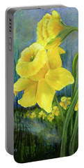Daffodil Dream Portable Battery Charger