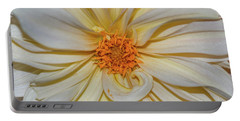Dahlia Summertime Beauty Portable Battery Charger