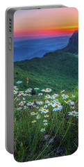 Daisies In The Mountain Portable Battery Charger