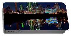 Dallas Reflecting At Night Portable Battery Charger