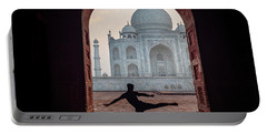 Dancer At The Taj Portable Battery Charger