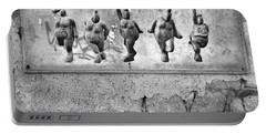 Dancing Venus - Naked Crones Black And White Portable Battery Charger