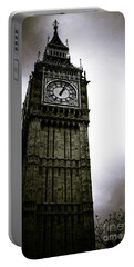 Dark Big Ben Portable Battery Charger