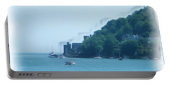 Dartmouth Castle Painting Portable Battery Charger