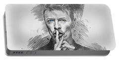 David Bowie. Portable Battery Charger