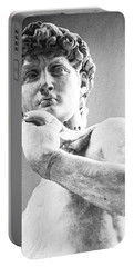 David Of Michelangelo Portable Battery Charger