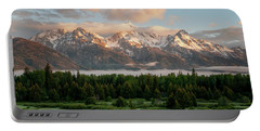 Dawn At Grand Teton National Park Portable Battery Charger
