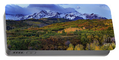 Dawn At The Dallas Divide Panoramic Portable Battery Charger