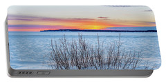 Daybreak Over East Bay Portable Battery Charger
