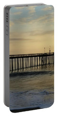 Portable Battery Charger featuring the photograph Daybreak Over The Ocean 1 by Robert Banach