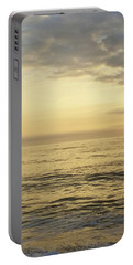 Portable Battery Charger featuring the photograph Daybreak Over The Ocean 2 by Robert Banach