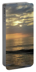 Portable Battery Charger featuring the photograph Daybreak Over The Ocean 3 by Robert Banach