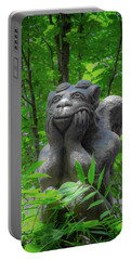 Daydreaming Gargoyle Portable Battery Charger