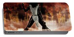 Deathstalker Vs Evil Dead Portable Battery Charger