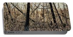 Portable Battery Charger featuring the photograph Deep Frost by Doug Gibbons