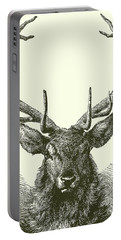 Deer Head  Portable Battery Charger