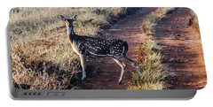 Deer Posing Portable Battery Charger