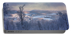 Deer Valley Winter View Portable Battery Charger