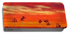 Del Mar Sunset Portable Battery Charger