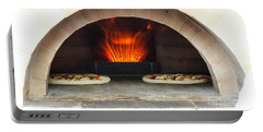 Delicious Pizza In The Oven Portable Battery Charger