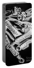 Dentist Still Life Design Portable Battery Charger