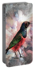 Desaturated Starling Portable Battery Charger