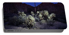 Desert At Night Portable Battery Charger