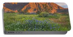 Desert Bluebell And California Desert Portable Battery Charger