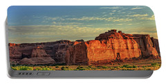 Desert Sunrise In Color Portable Battery Charger