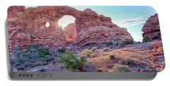 Desert Sunset Arches National Park Portable Battery Charger