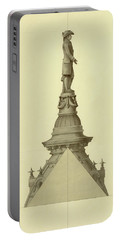 Design For City Hall Tower Portable Battery Charger