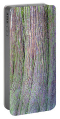 Details, Old Growth Western Redcedar Portable Battery Charger