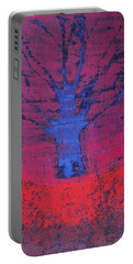 Disappearing Tree Original Painting Portable Battery Charger