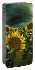 Portable Battery Charger featuring the photograph Disarray  by Aaron J Groen