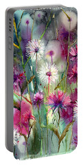 Disco Thistles Portable Battery Charger