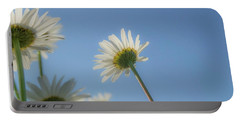 Distracted Daisies Portable Battery Charger