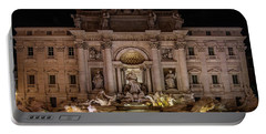 Ditrevi Fountain At Night Portable Battery Charger