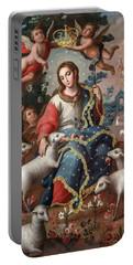 Divine Shepherdess Portable Battery Charger