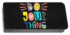 Do Your Thing - Baby Room Nursery Art Poster Print Portable Battery Charger