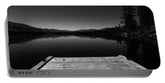 Dock At Dusk Portable Battery Charger