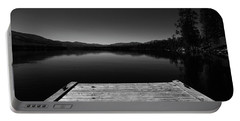 Portable Battery Charger featuring the photograph Dock At Dusk by Tom Gresham