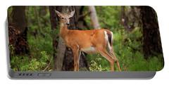 Doe, A Deer, A Female Deer Portable Battery Charger