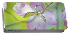 Dogwood Blossom In Spring Portable Battery Charger