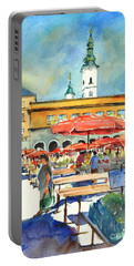 Dolce Market In Zagreb #1 Portable Battery Charger