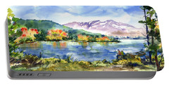 Donner Lake Fisherman Portable Battery Charger