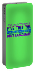 Don't Exaggerate Portable Battery Charger
