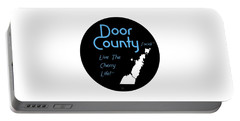 Door County Icon Portable Battery Charger