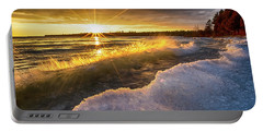 Door County Sunset Portable Battery Charger
