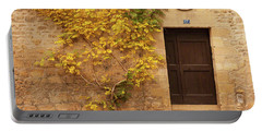 Doorway, Sarlat, France Portable Battery Charger